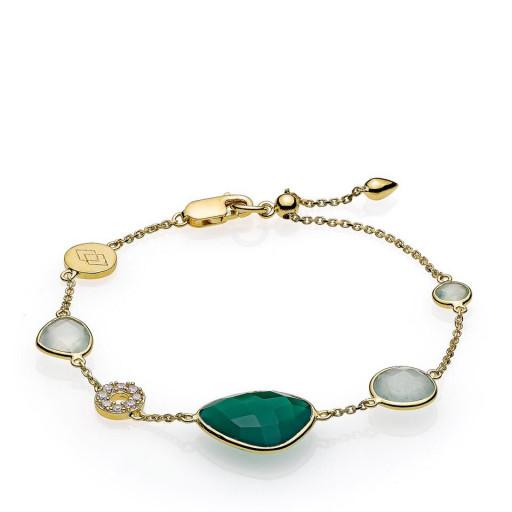 Orient armbånd i guld fra Izabel Camille.