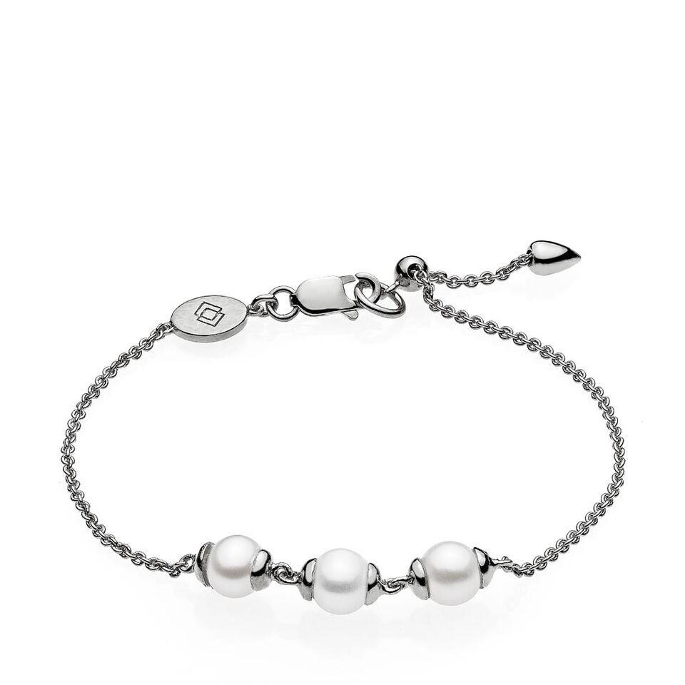 Virtue armbånd i sølv fra Izabel Camille.