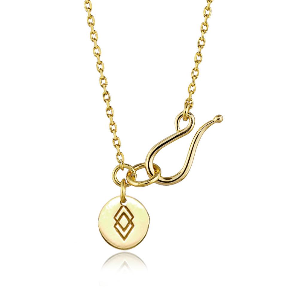 Basis ankerkæde (45/55/80 cm) i guld fra Izabel Camille