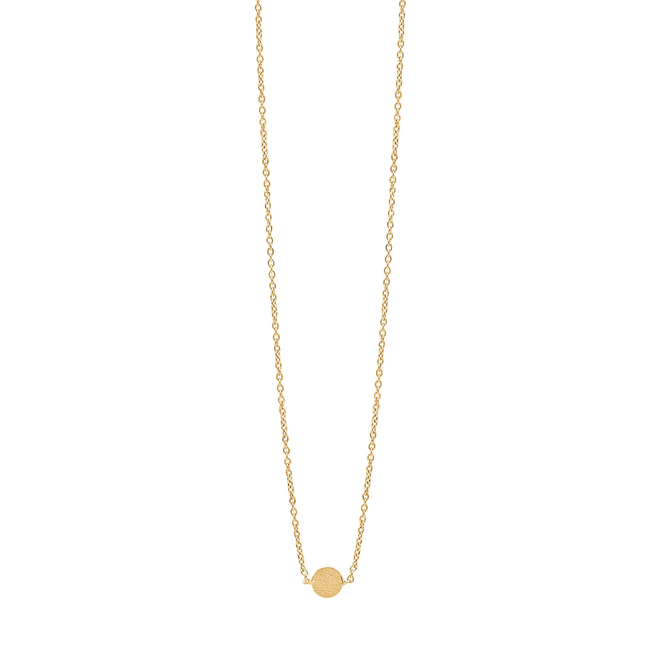 Coin halskæde i guld fra Enamel