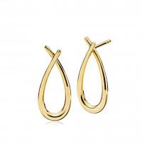 Attitude medium øreringe i guld fra Izabel Camille
