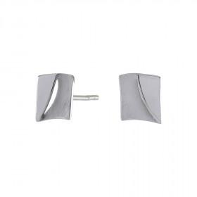 Sølv square ørestikker 8mm fra Nordahl Andersen