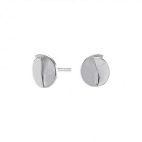Sølv runde ørestikker 8mm fra Nordahl Andersen