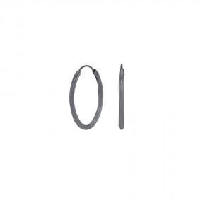 Oxideret øreringe 20mm fra Nordahl Andersen