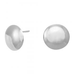 Sølv øreringe fra Siersbøl