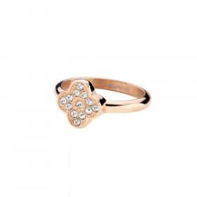 Cloveria ring i rosa guld fra Dyrberg/Kern