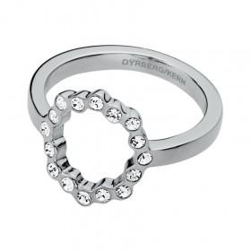 Vivian ring i sølv fra Dyrberg/Kern