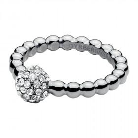Reiko ring i sølv fra Dyrberg/Kern