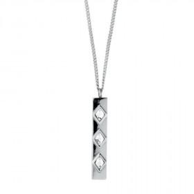 Loma halskæde i sølv fra Dyrberg/Kern