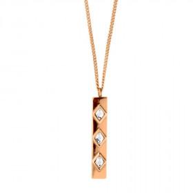 Loma halskæde i rosa guld fra Dyrberg/Kern