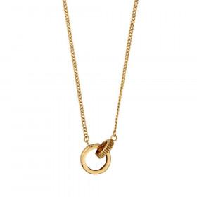 Ezell halskæde i guld fra Dyrberg/Kern