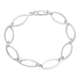 Sølv rhodineret armbånd fra Nordahl Andersen