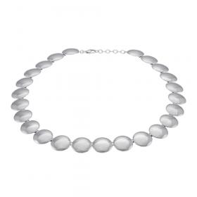 Tidsløs halskæde i sølv fra Siersbøl