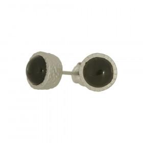Sølv øreringe fra Lund Copenhagen