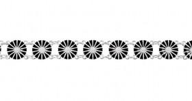 Marguerit armbånd i sølv fra Lund Copenhagen
