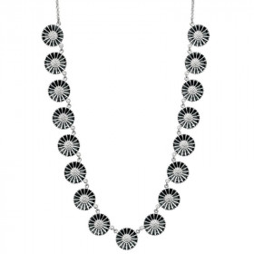 Marguerit halskæde i sølv fra Lund Copenhagen