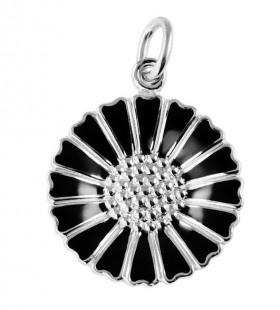 Marguerit vedhæng i sølv fra Lund Copenhagen