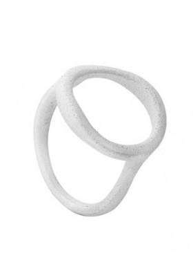 Orbit ring i sølv fra Von Lotzbeck