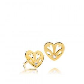 Sweethearts ørestikker i guld fra Izabel Camille