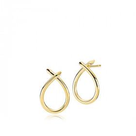Everyday øreringe i 8 karat guld fra Izabel Camille.