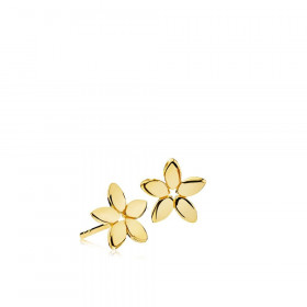 Magnolia ørestikker i guld fra Izabel Camille.