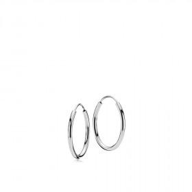 Flamingo small øreringe i sølv fra Izabel Camille