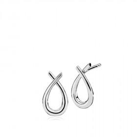 Attitude small øreringe i sølv fra Izabel Camille