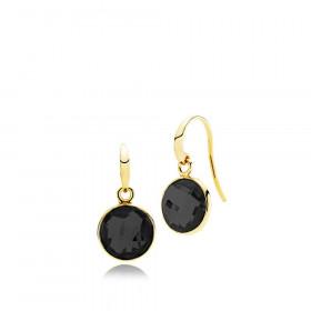 Prima Donna øreringe i guld med onyx fra Izabel Camille