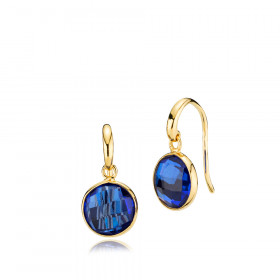 Prima Donna øreringe i guld med blå kvarts fra Izabel Camille.