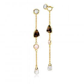 Lange Orient øreringe fra Izabel Camille