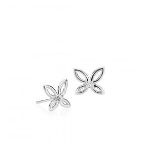 Blossom ørestikker i sølv fra Izabel Camille.