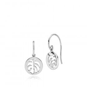 Shades øreringe i sølv fra Izabel Camille
