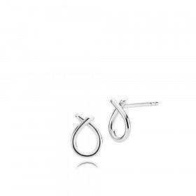 Everyday (små) øreringe i sølv fra Izabel Camille.