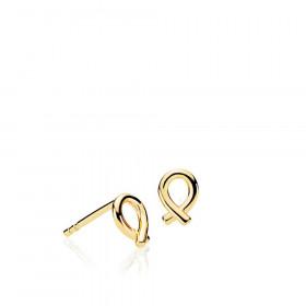 Everyday ørestikker i guld fra Izabel Camille.