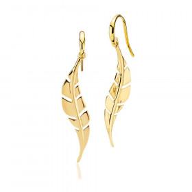Flawless øreringe i guld fra Izabel Camille