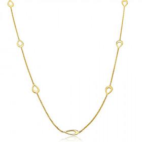Harmony halskæde i guld fra Izabel Camille