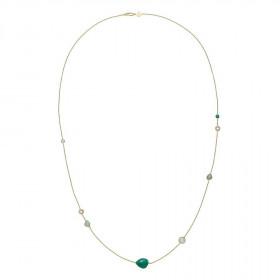 Orient halskæde i guld fra Izabel Camille.