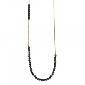 Jackie halskæde med sort onyx fra Izabel Camille