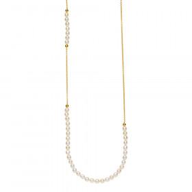 Jackie halskæde med hvide shell perler fra Izabel Camille