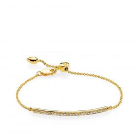 Promise armbånd i guld fra Izabel Camille