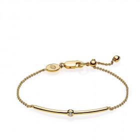 Capture armbånd i guld fra Izabel Camille.