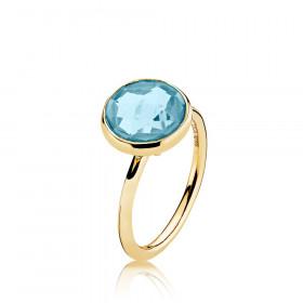 Prima Donna ring med 11 mm sten fra izabel Camille