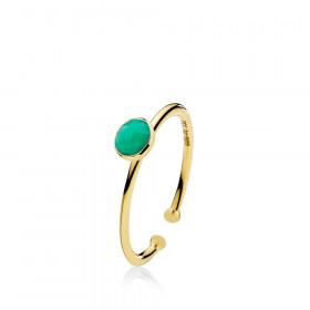 Prima Donna small ring med 7 mm sten fra Izabel Camille