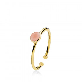 Prima Donna small ring med 7 mm sten fra Izabel Camille