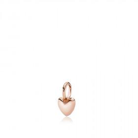 Soulheart hjerte vedhæng i rosa guld fra Izabel Camille