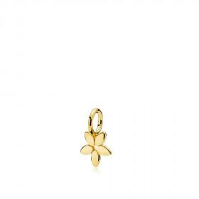 Magnolia vedhæng i blankt guld fra Izabel Camille