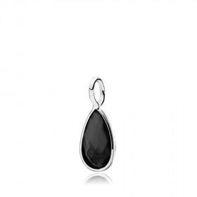 Gem Drop vedhæng i sølv med en sort onyx fra Izabel Camille