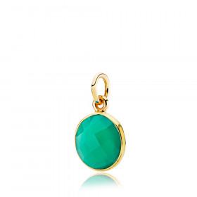 Prima Donna vedhæng i guld med grøn onyx fra Izabel Camille.