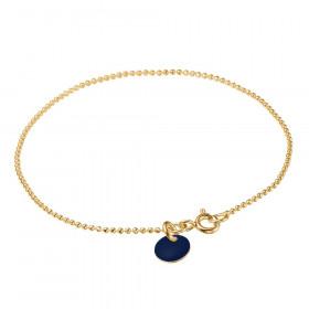 Ball Chain armbånd i guld fra Enamel