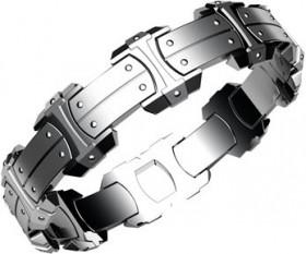 Armor Plate armbånd i stål fra Nordahl Andersen